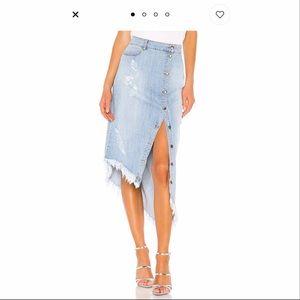 RETROFETE Skirts - Maude Denim Skirt by RETROFETE